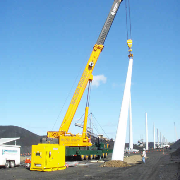 Removal of concrete poles with wire sawing